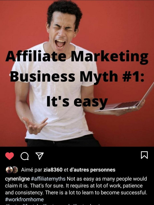 Affiliate Marketing Myth