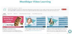 MeetEdgar videos training
